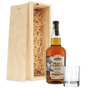 Peaky Blinders whiskey set