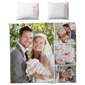 Personalised bedding set