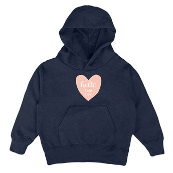 Kinder hoodie - Navy