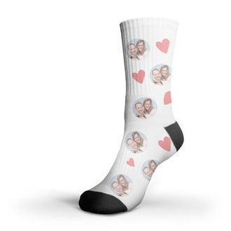 Calcetines impresos con foto