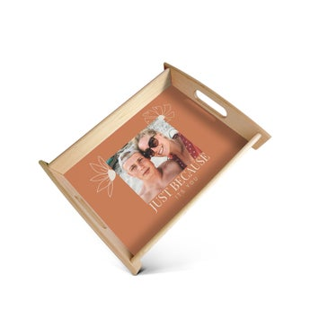 Serving Tray Large Beige