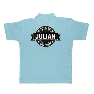 Košile Polo - Děti - Modrá