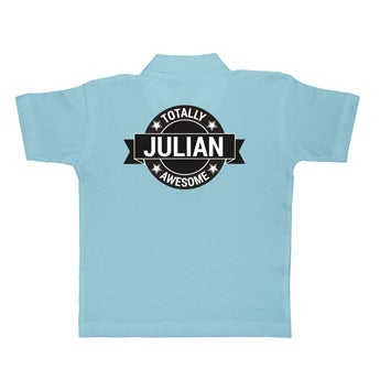 Polo shirt - Kids - Blue