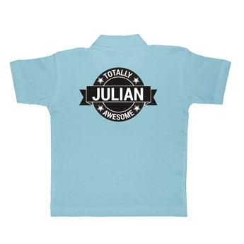 Polo tričko - Deti - Modrá