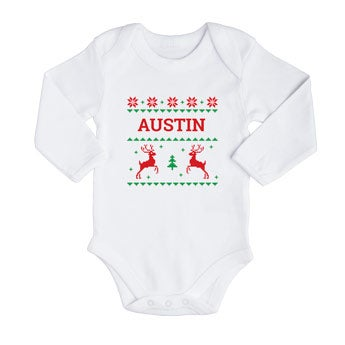 Baby's first Christmas onesie