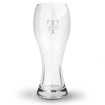 Vasos de cerveza largos