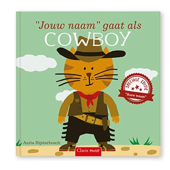 Ik ga als cowboy