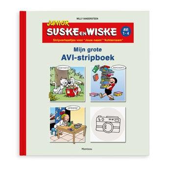 Junior Suske & Wiske stripboek - Softcover (jongen)