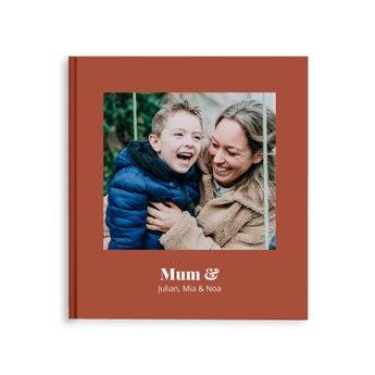 Fotobok - Mamma og jeg/oss - M - Hardback (40)