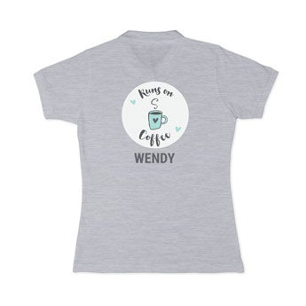 Póló ing - Női - Szürke