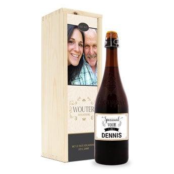 Bier - La Trappe Isid'or met naam of foto