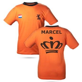 Koningsdag T-shirt met naam
