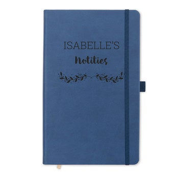 Notitieboek met naam