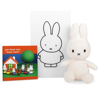 nijntje cadeau pakket - Kinderbestek + boek