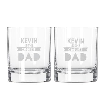 Vaderdag whiskey glazen set
