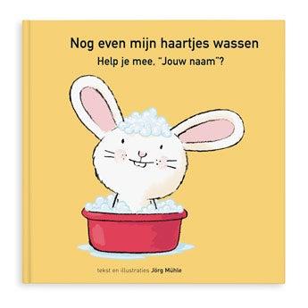 Boek - even mijn haartjes wassen