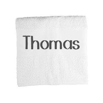 Handduk, heltryck - 50 x 100 cm