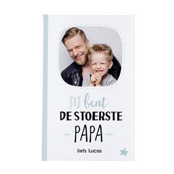 Vaderdag notitieboek - bedrukt