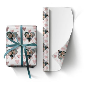 Personlig gavepapir