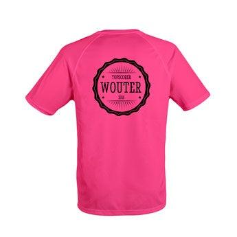 Mannen sportshirts - Roze