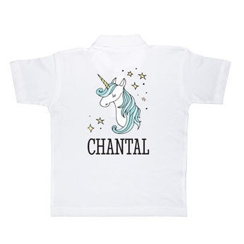 Polo tričko - Kids - White