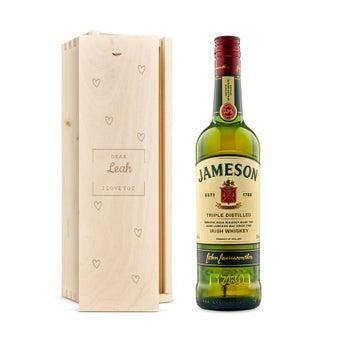 Jameson whiskey - In bedrukte kist