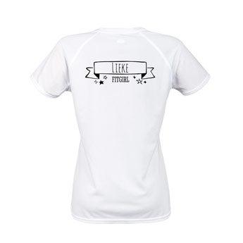 Vrouwen sportshirts - Wit
