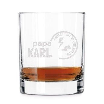 Vatertag Whiskyglas
