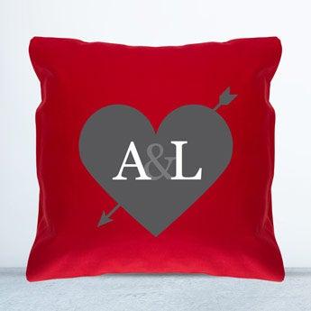 Cushion - Red - 40 x 40 cm