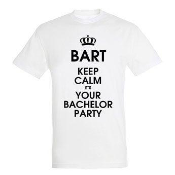T-shirt - Man - Wit - L