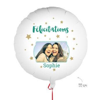 Ballon personnalisé - Félicitations