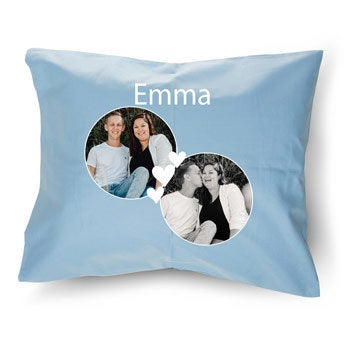 Cushion case - Light blue - 50 x 60 cm
