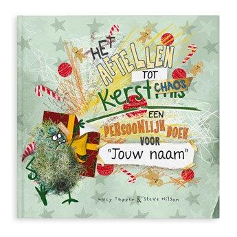 Kerstchaos advent-doeboek  (Hardcover)