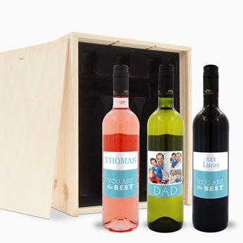 Weinpaket - Vatertag - Luc Pirlet