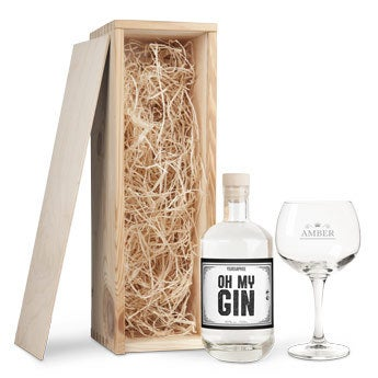 YourSurprise gin - Darčeková súprava so sklom
