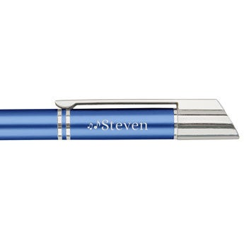 Viva penner - Tess ballpoint penn - Blå (høyre hånd)