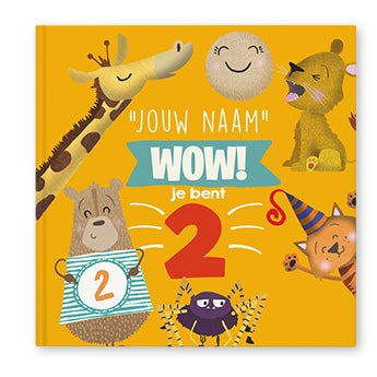 Wow, je bent 2! - Hardcover