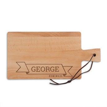 Tábua de madeira - Faia - Retângulo - Paisagem (S)