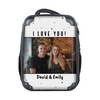 Photo suitcase Princess - Backpack
