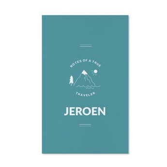 Notitieboekje - Softcover