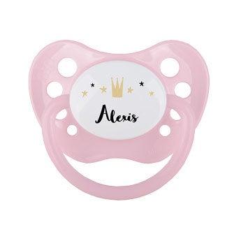 Baby chupete - rosa