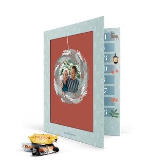 Personalizovaný adventný kalendár - Toblerone