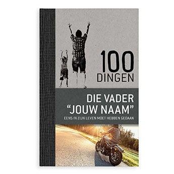 Boek - 100 dingen voor vaders - Hardcover