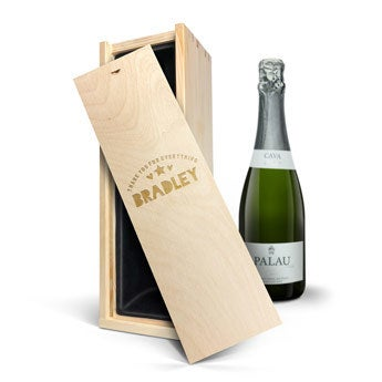 Palau Gazo Brut - In engraved case