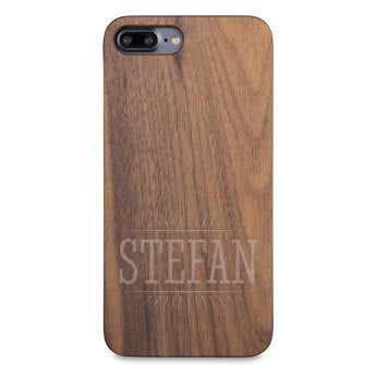 Houten telefoonhoesje - iPhone 7 plus
