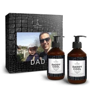 Darčekový štítok - Sada pre otca - Daddy Cool