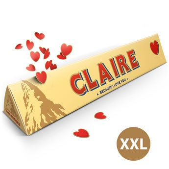 Toblerone d'amour XXL - 4,5 kilos