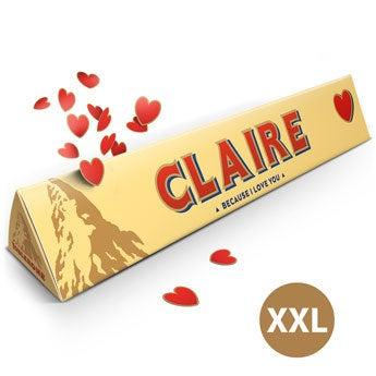Toblerone d'amour XXL - 4,5kg