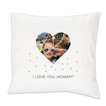 Mother's Day cushion - White