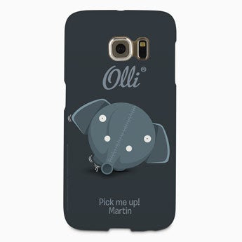 Ollie Hülle Galaxy S6 Edge - rundum bedruckt